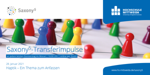 Saxony Five - Transferimpulse - Flyer Vorderseite